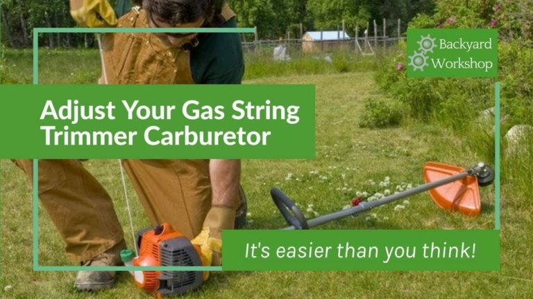 How to Adjust A Carburetor On A Weed Eater