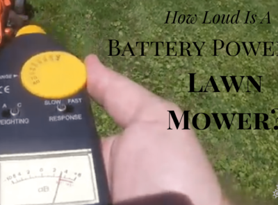 How Loud Is A Battery Powered Lawn Mower?