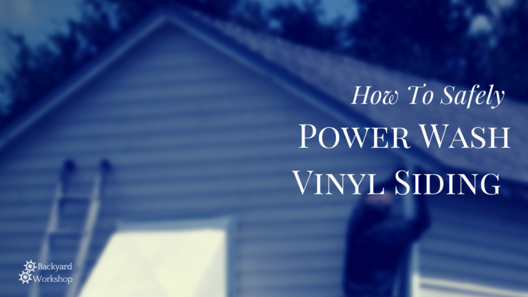 How To Safely Power Wash Vinyl Siding