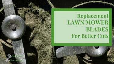 lawn mower replacement blades