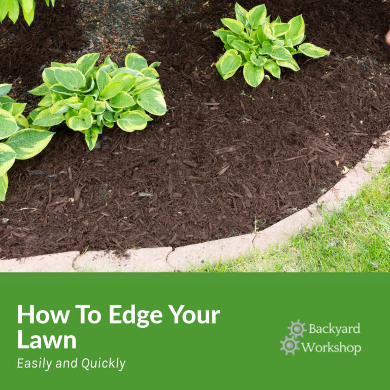 How To Edge Your Lawn – The Right Way